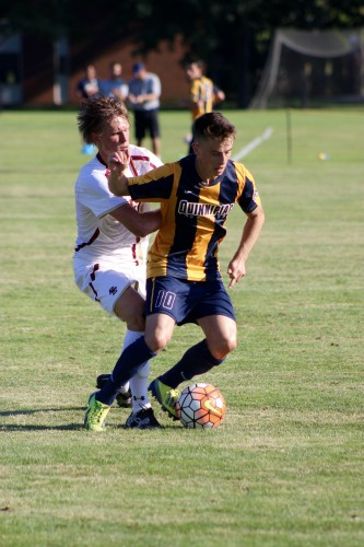 Men's soccer drops season opener to No. 11 Boston College