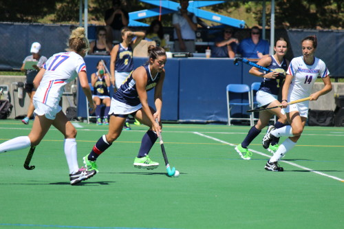 Field hockey loses 3-2 against UMass Lowell