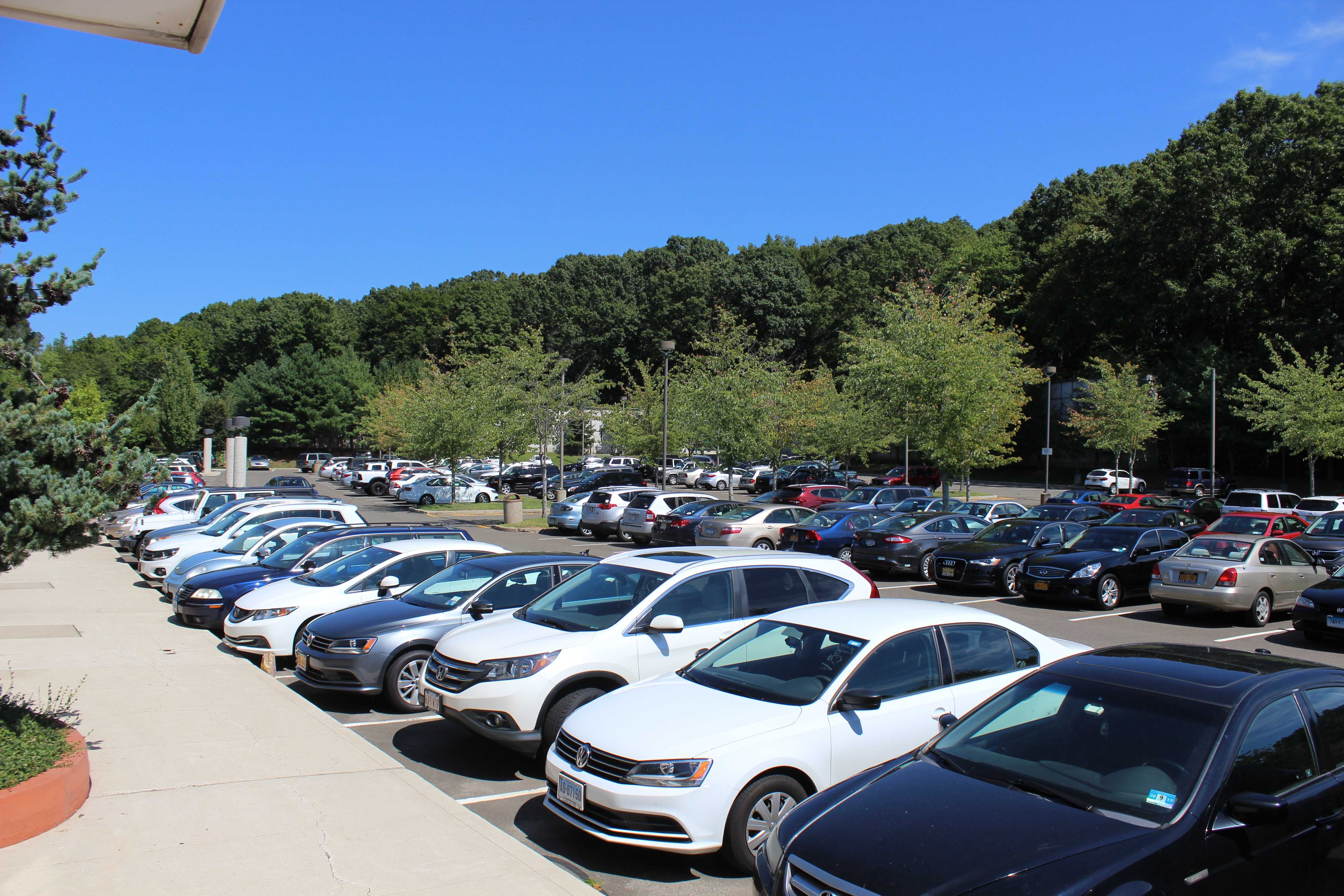 Due to the new parking rules and regulations, all sophomores have the option to park in Hilltop parking lot.