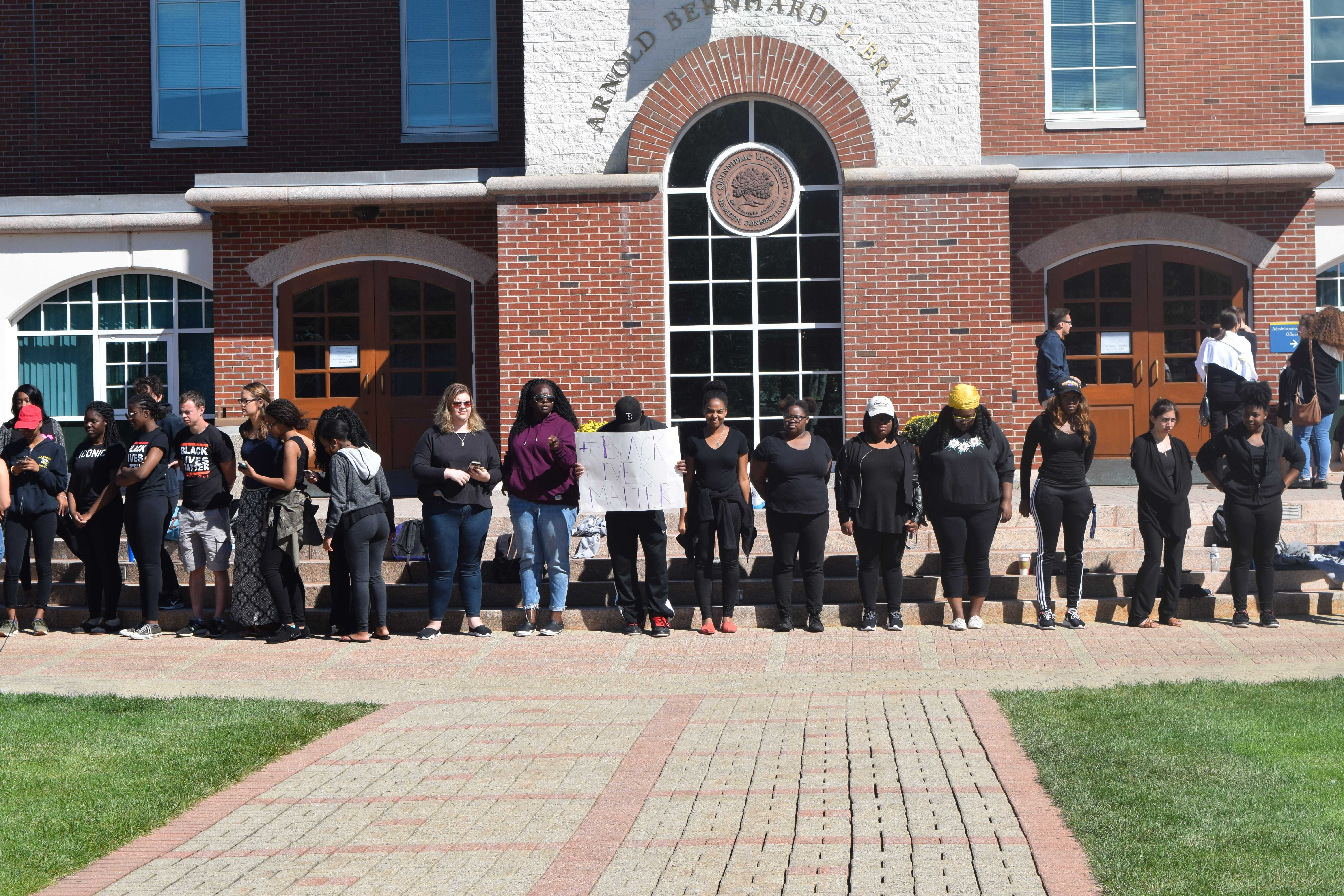 Community protests after controversial Snapchat photo
