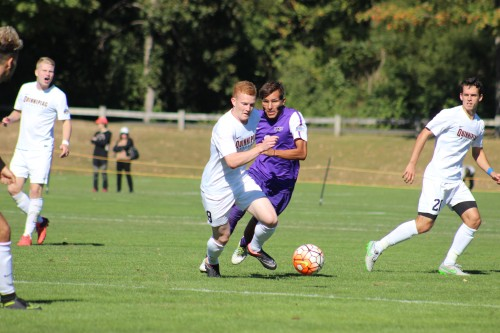 Men's soccer drops MAAC opener in OT