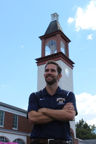 Josh Glaab begins reign as head coach of men's cross country