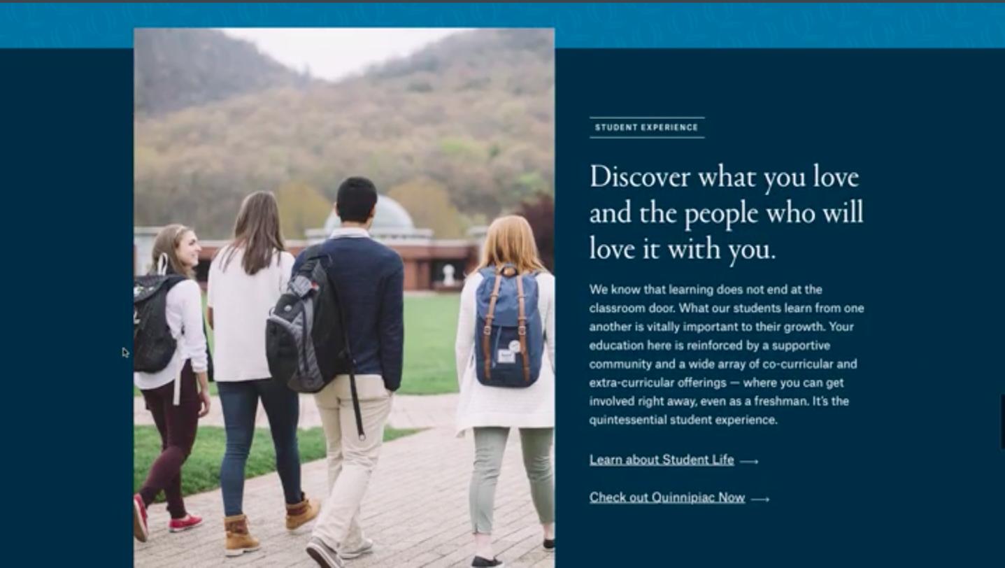 University set to release new website