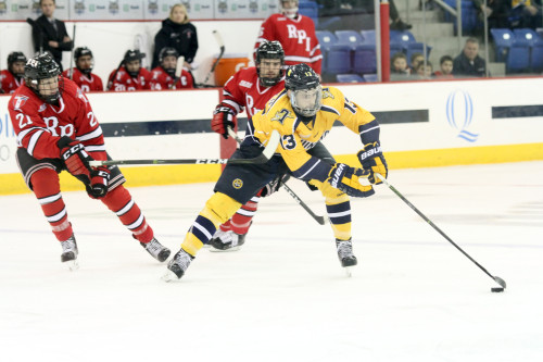 Men's ice hockey beats RPI behind three power-play goals