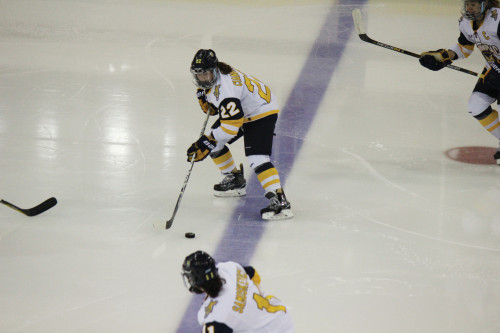 Women's ice hockey dips in ECAC, national rankings