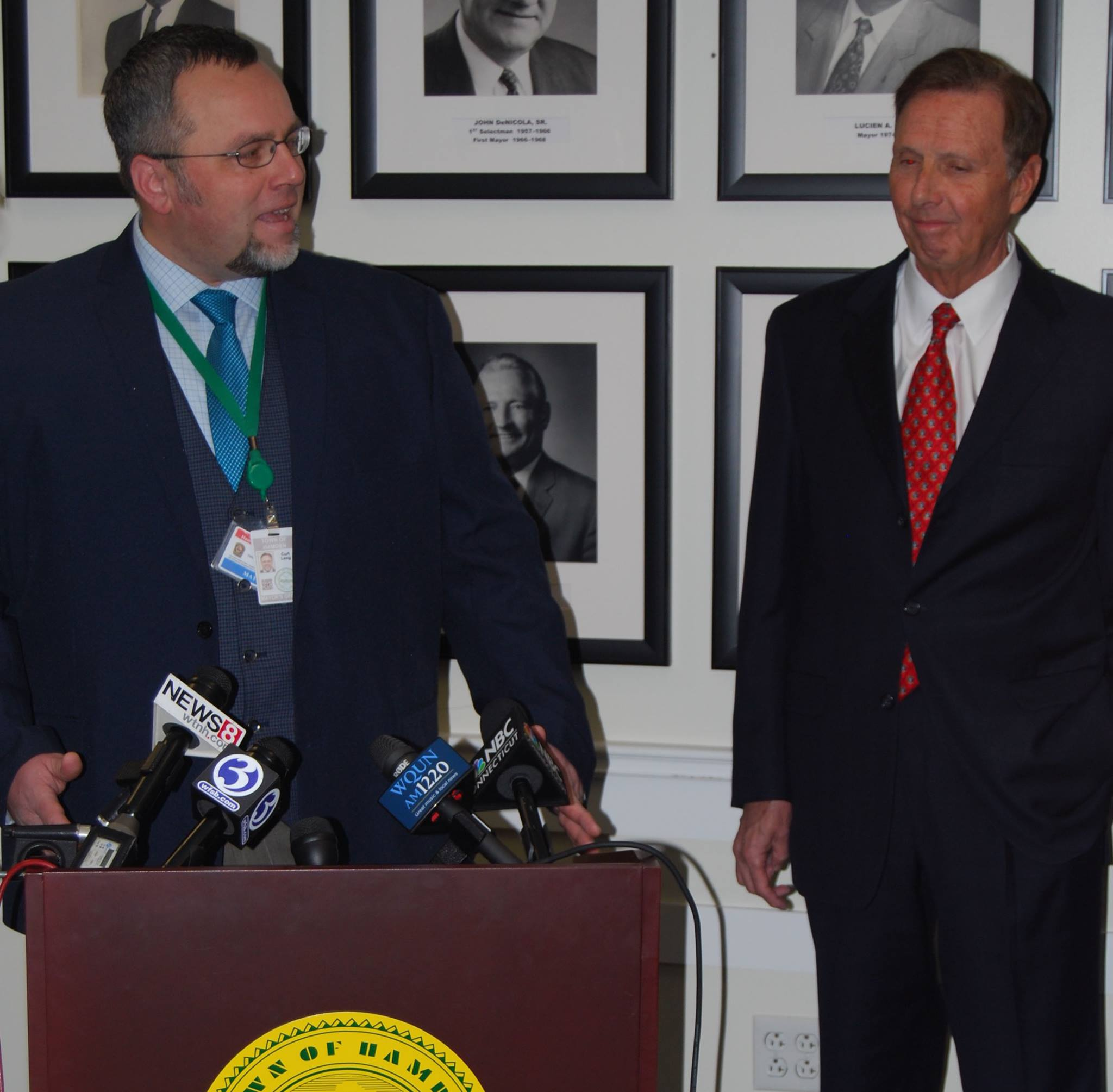 Lahey improving relations with Hamden, University contributes $1.4 million