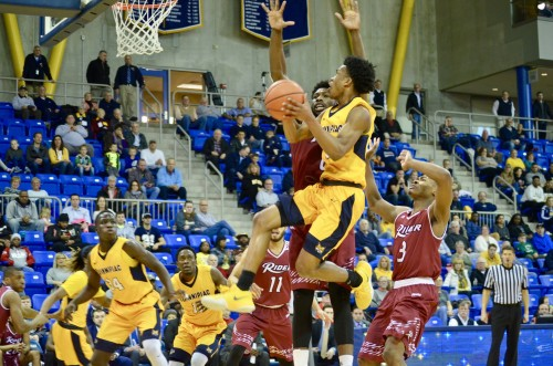 Men's basketball drops Senior Day game to Rider