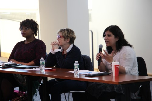 Panel of professors explain human rights for minorities