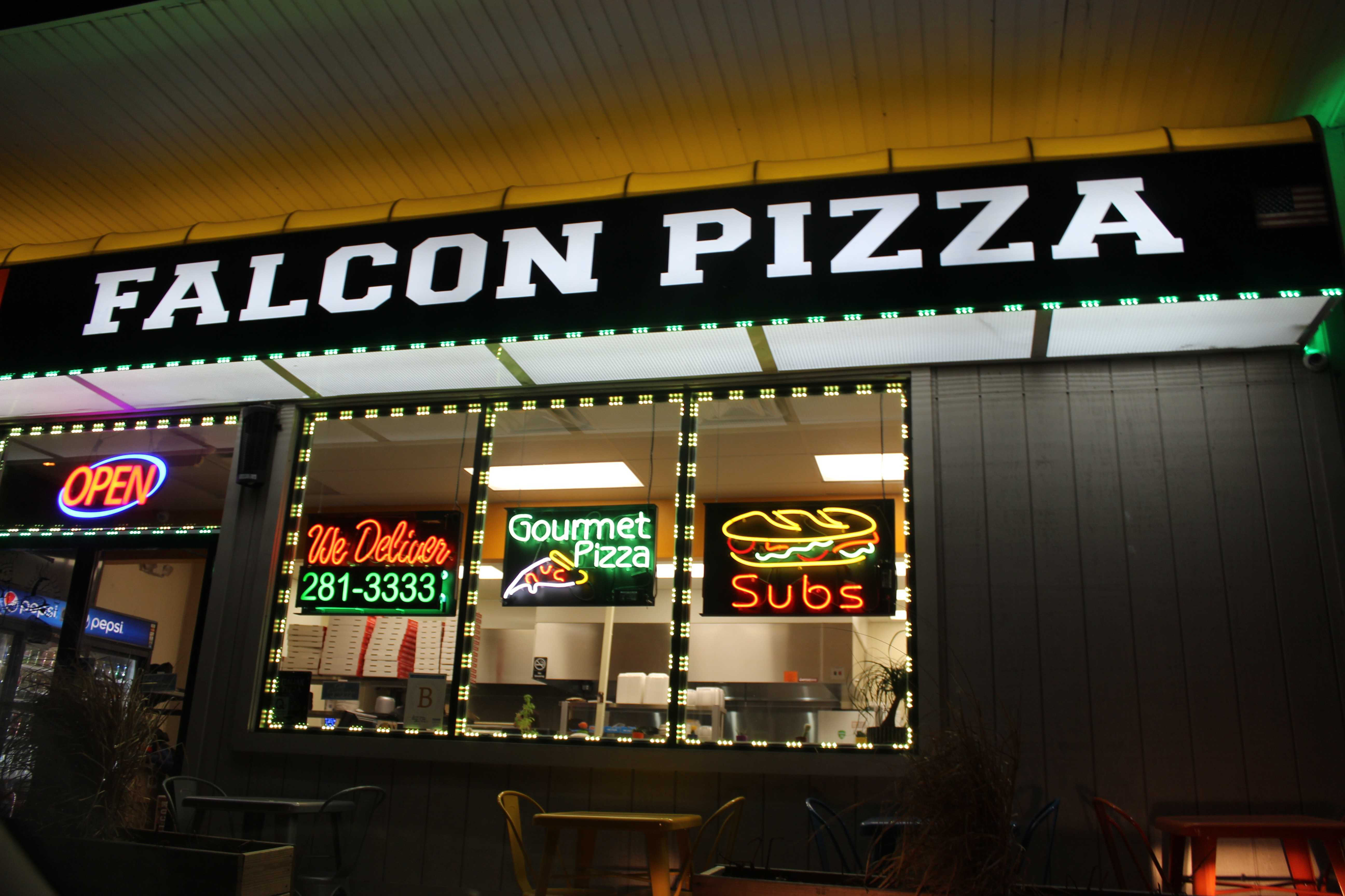 From Bobcat Pizza to Falcon Pizza