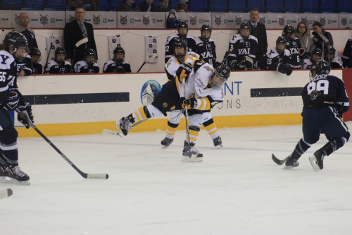 Women's ice hockey beats Yale behind four unanswered goals