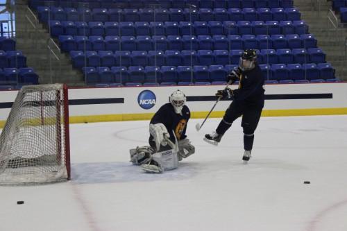 Matt King joins men's ice hockey as walk-on goaltender