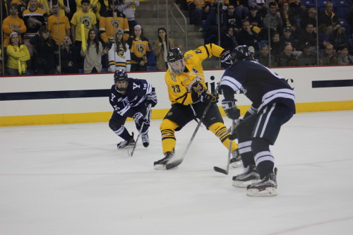 Men's ice hockey team heads to St. Lawrence for ECAC Quarterfinals