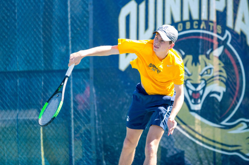 Quinnipiac tennis teams victorious over Siena on Senior Day