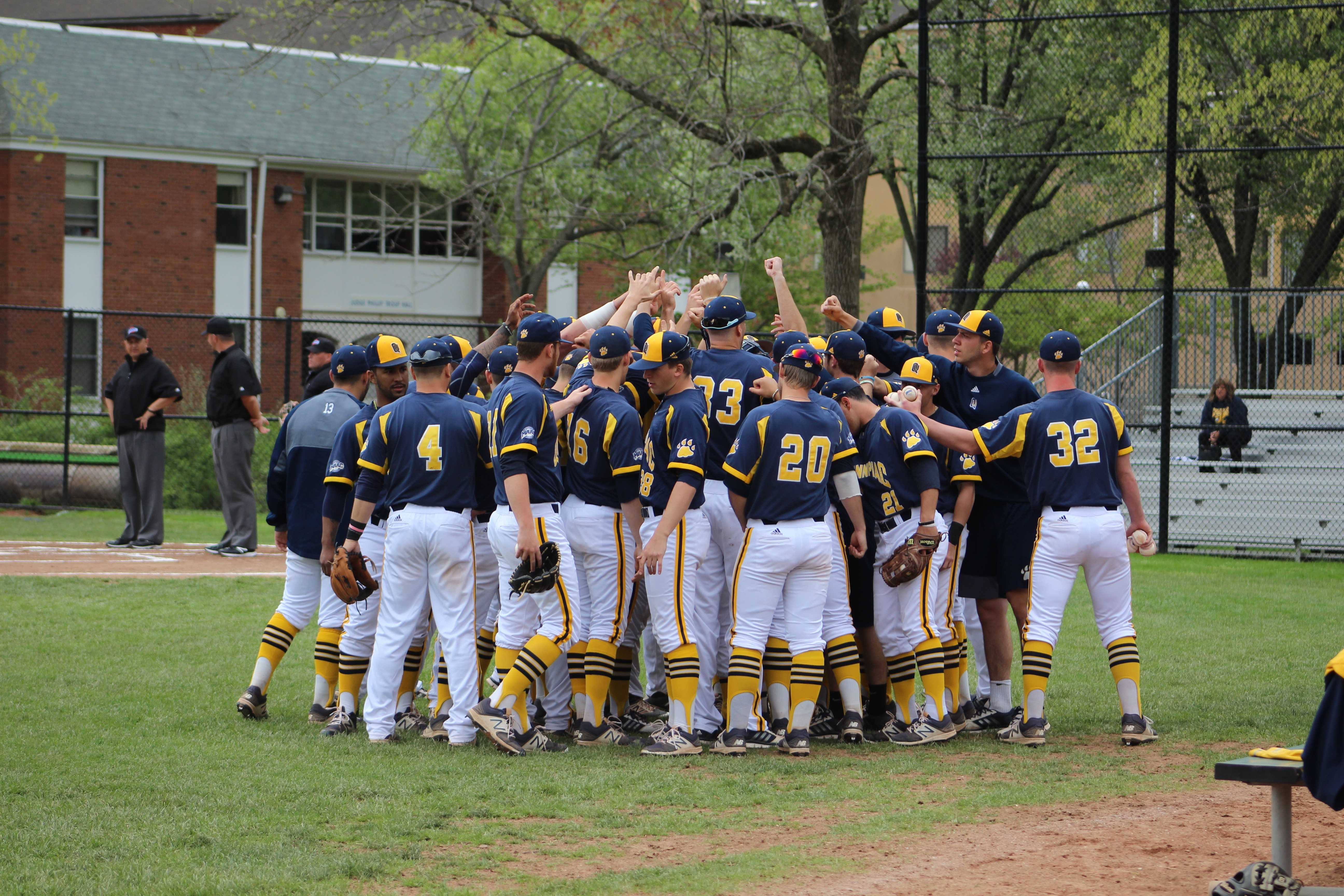 Quinnipiac baseball splits doubleheader with Canisius