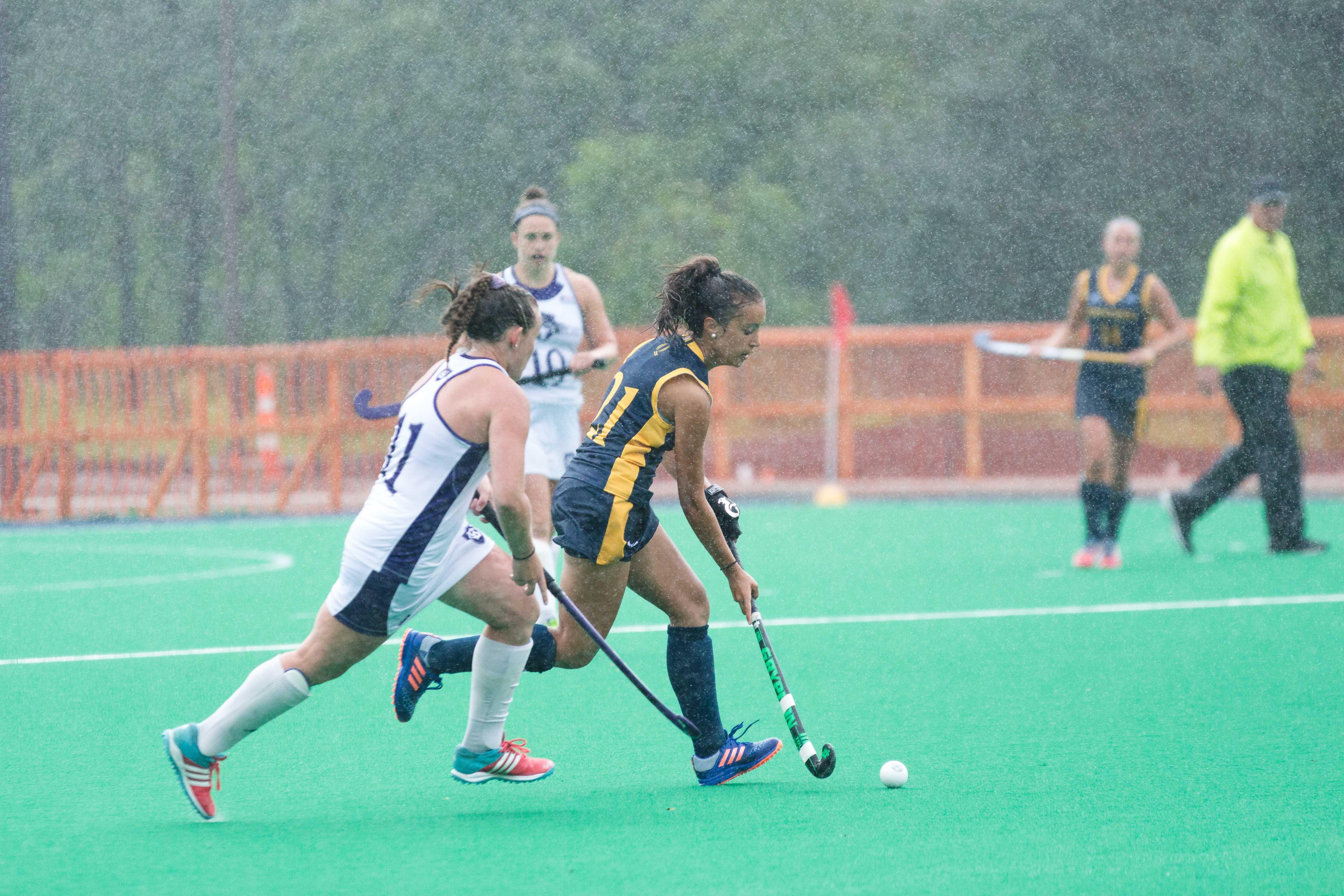 Quinnipiac field hockey shutout by Holy Cross