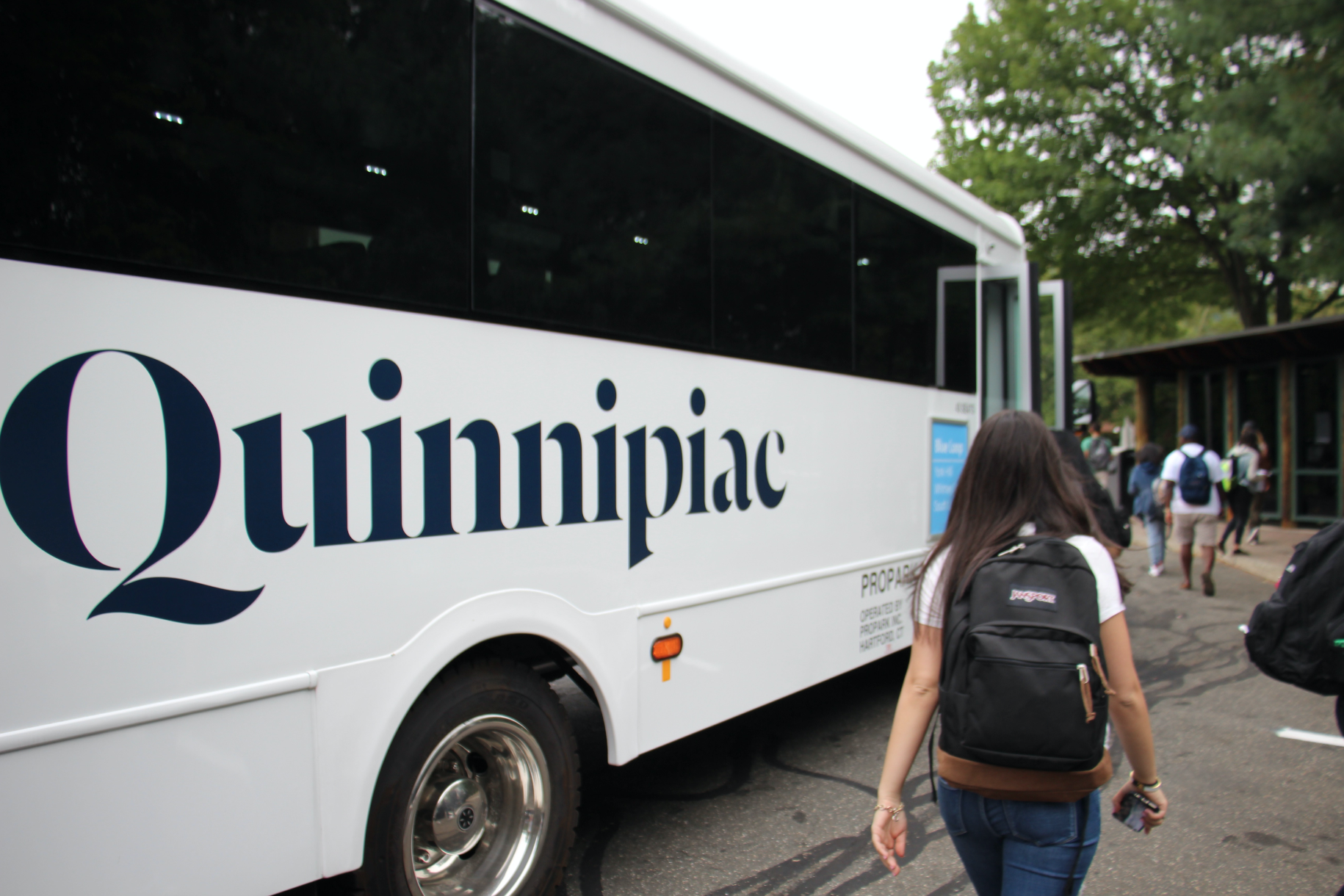 Pro Park is the new face of Quinnipiac transportation
