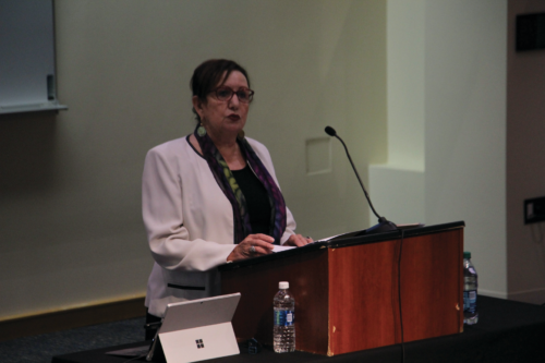 Stiernotte lecture continues as 'philosophy's gift to Quinnipiac'