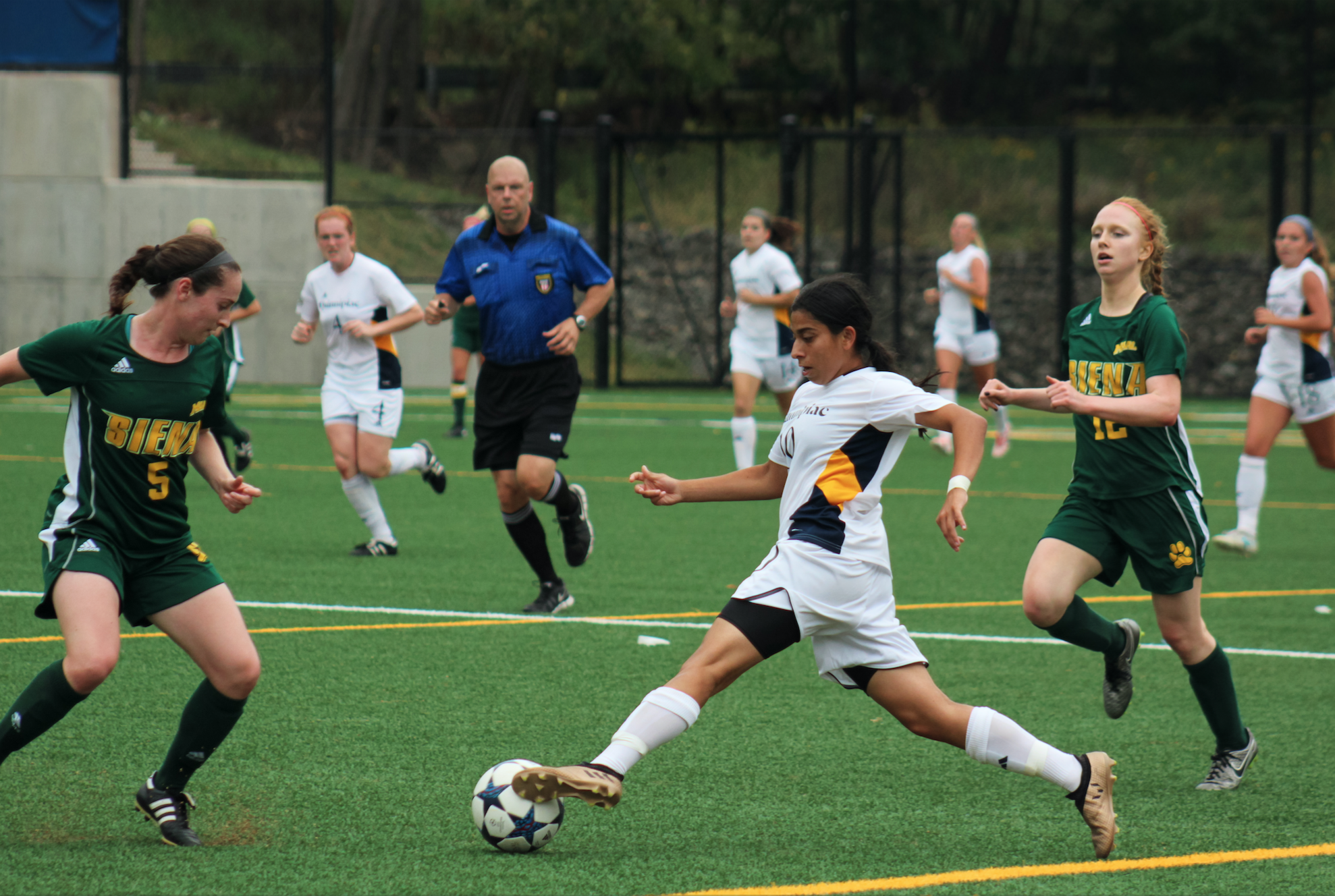 Quinnipac women's soccer beats Siena in overtime