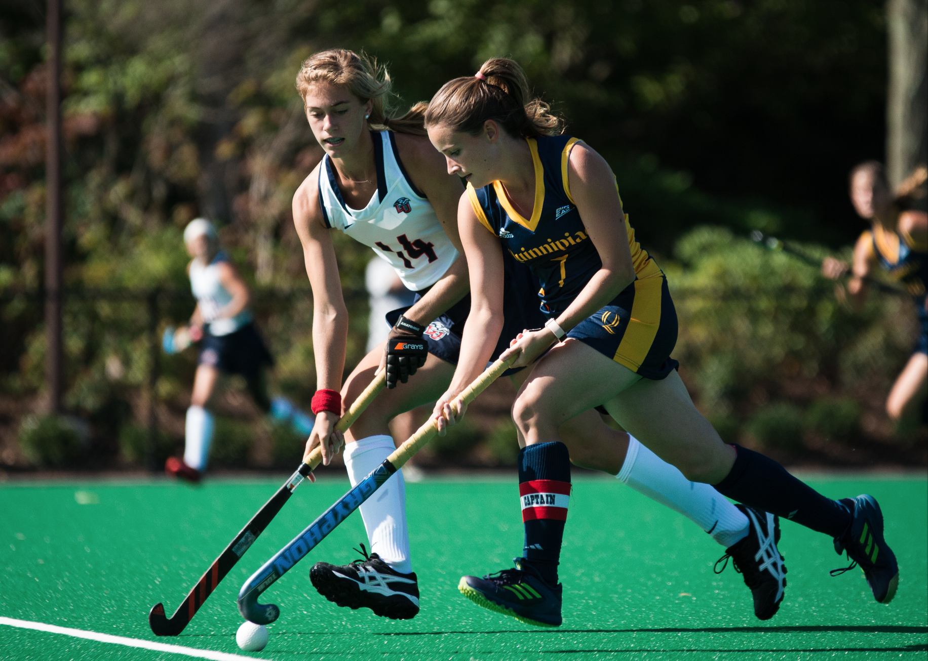 Quinnipiac field hockey beats Liberty in first win of the QU Bobcat Invitational