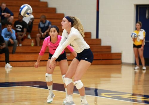 Quinnipiac volleyball defeats Saint Peter's in home opener