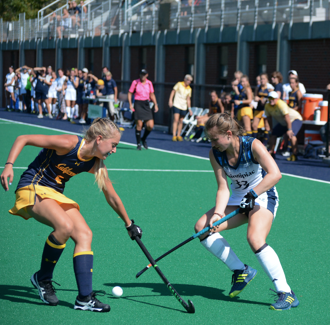 Quinnipiac field hockey comes up short against California