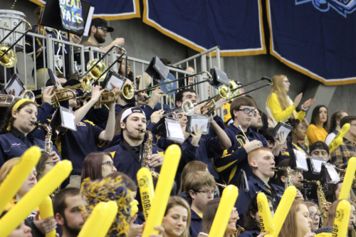 Pep band steps up its game