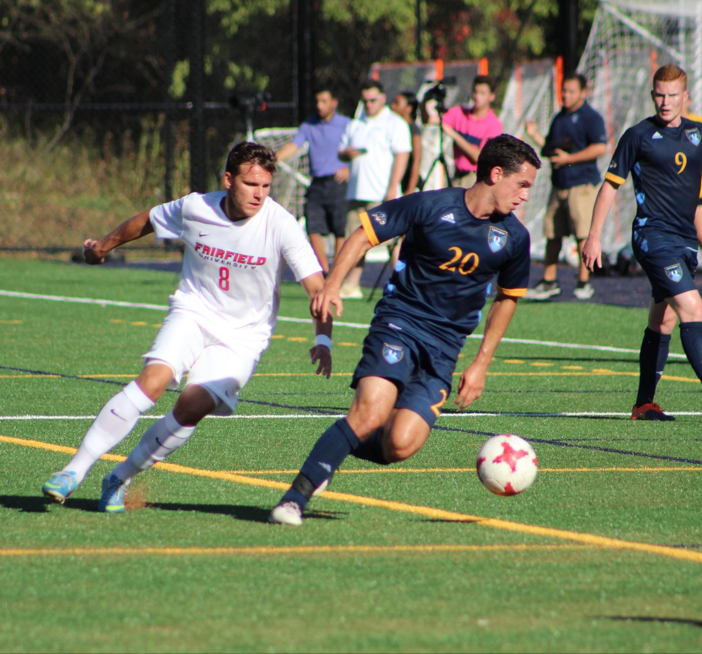 Quinnipiac men's soccer unable to top Fairfield
