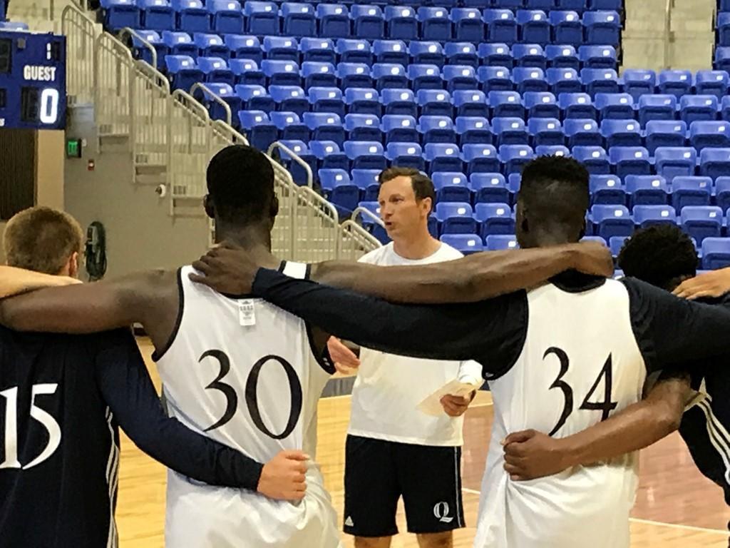 Quinnipiac men's basketball helps Houston relief efforts