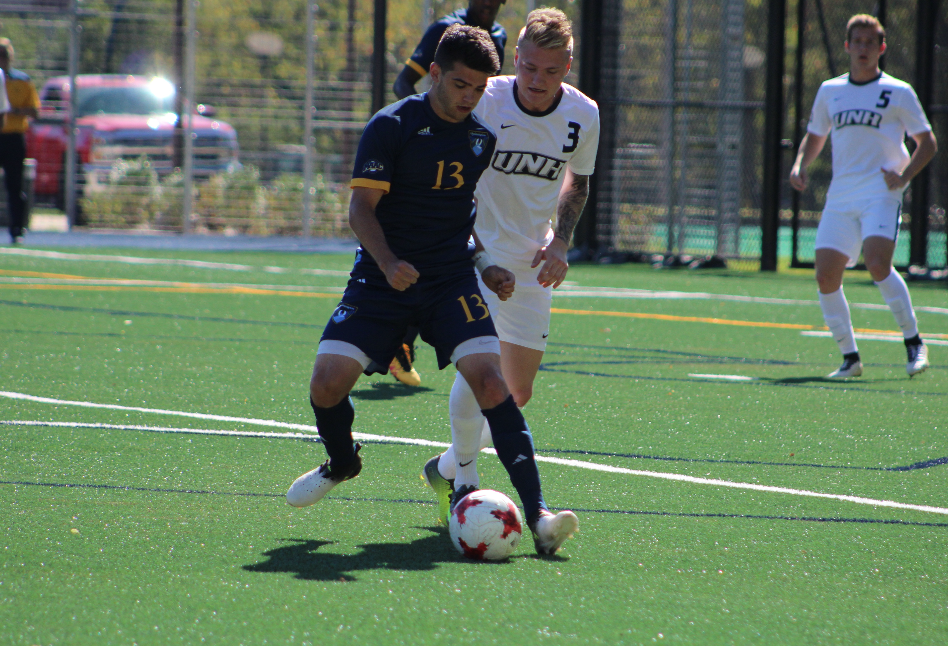 Quinnipiac men's soccer fails to score in loss to No. 14 New Hampshire