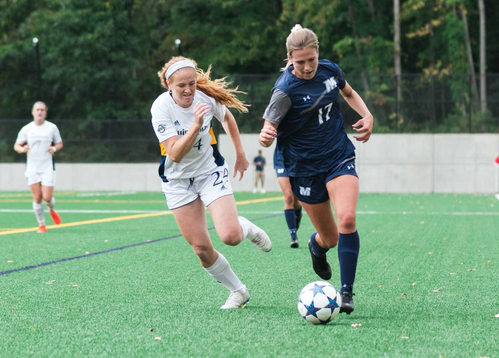 Quinnipiac women's soccer dealt clean sheet from Monmouth