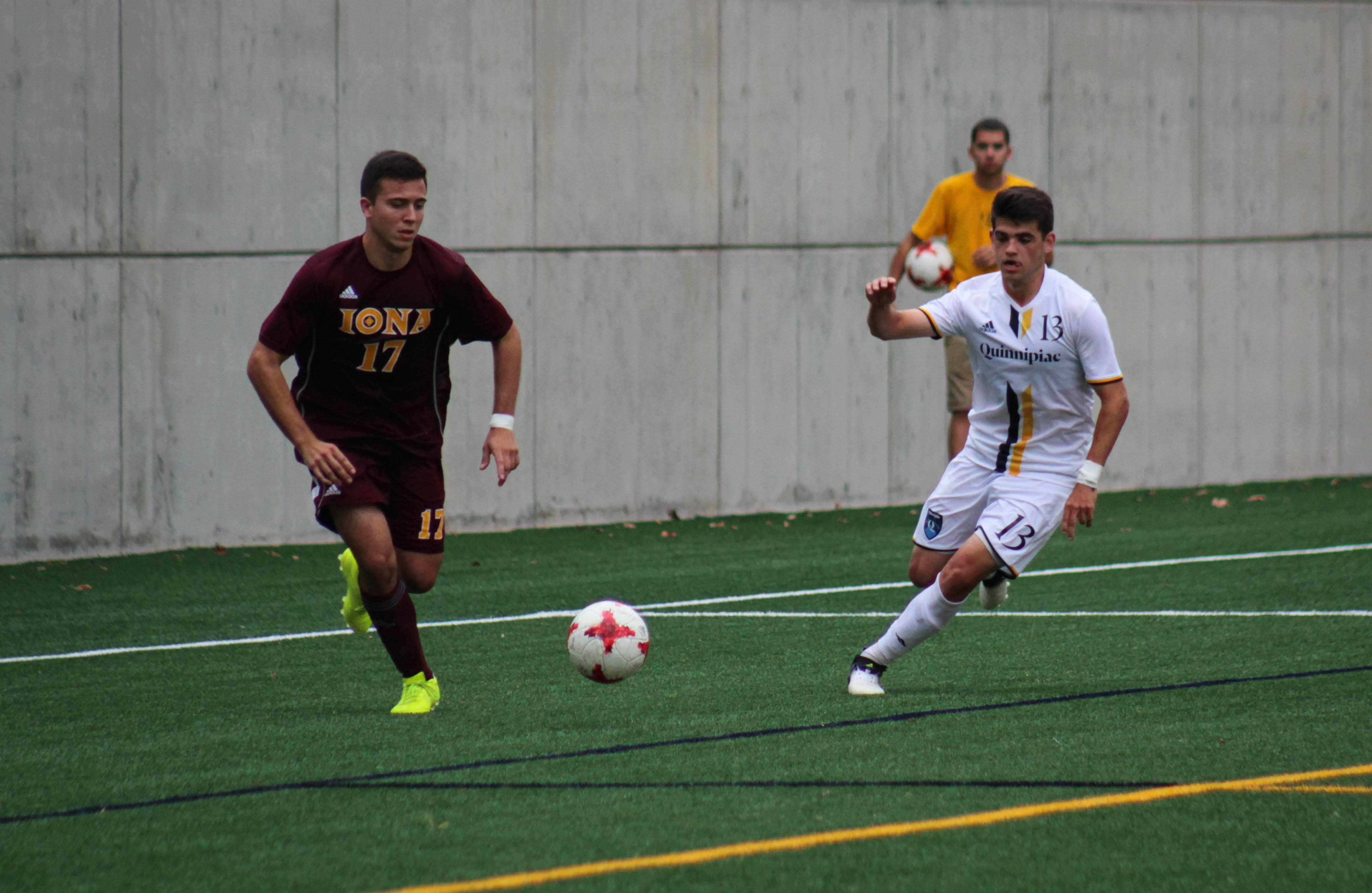Quinnipiac men's soccer falls 1-0 to Iona