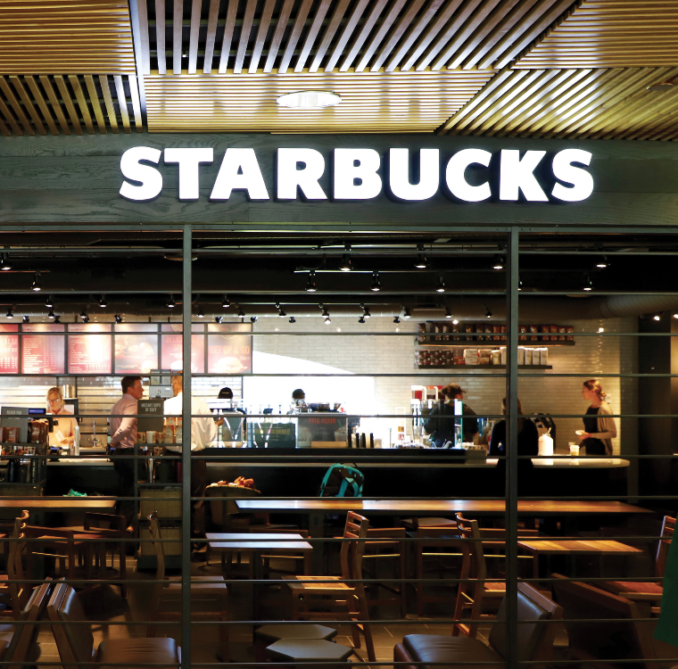 Starbucks opens after busy test runs