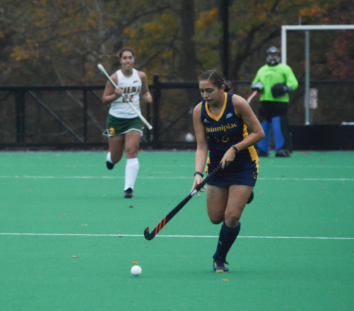 Quinnipiac field hockey beats Siena 3-2 on Senior Day
