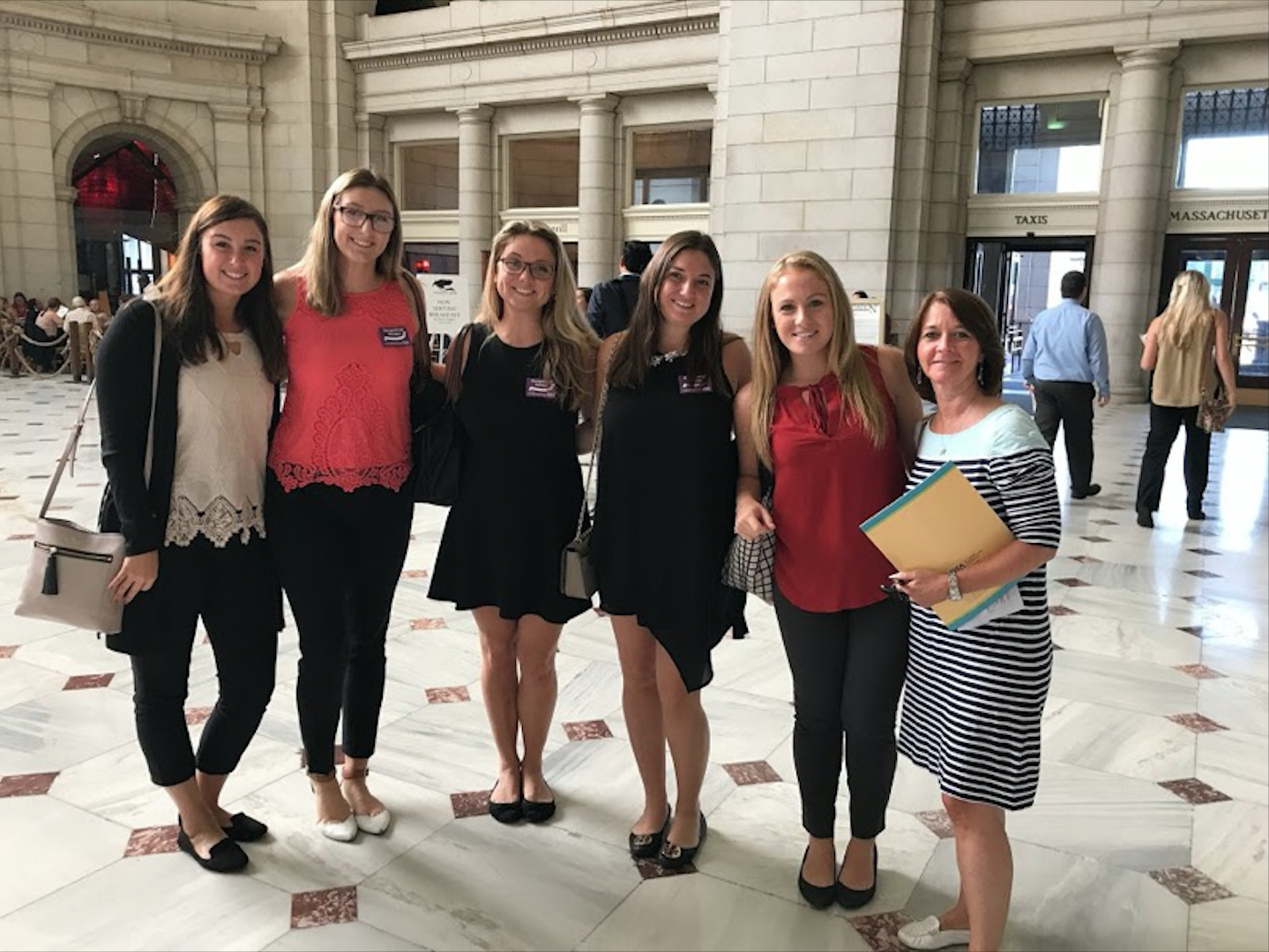 Occupational therapy students lobby Congress