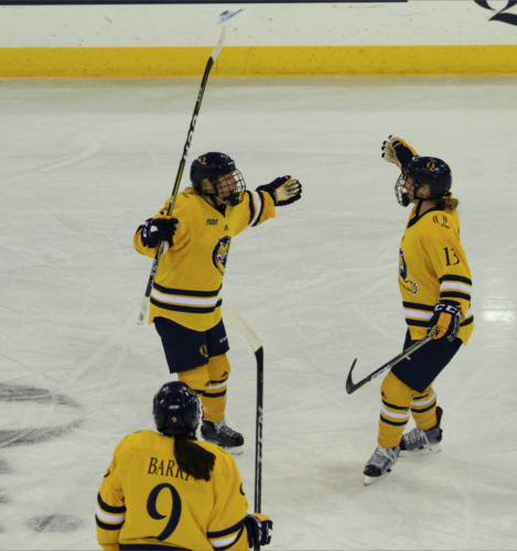 Quinnipiac women's ice hockey beats Vermont