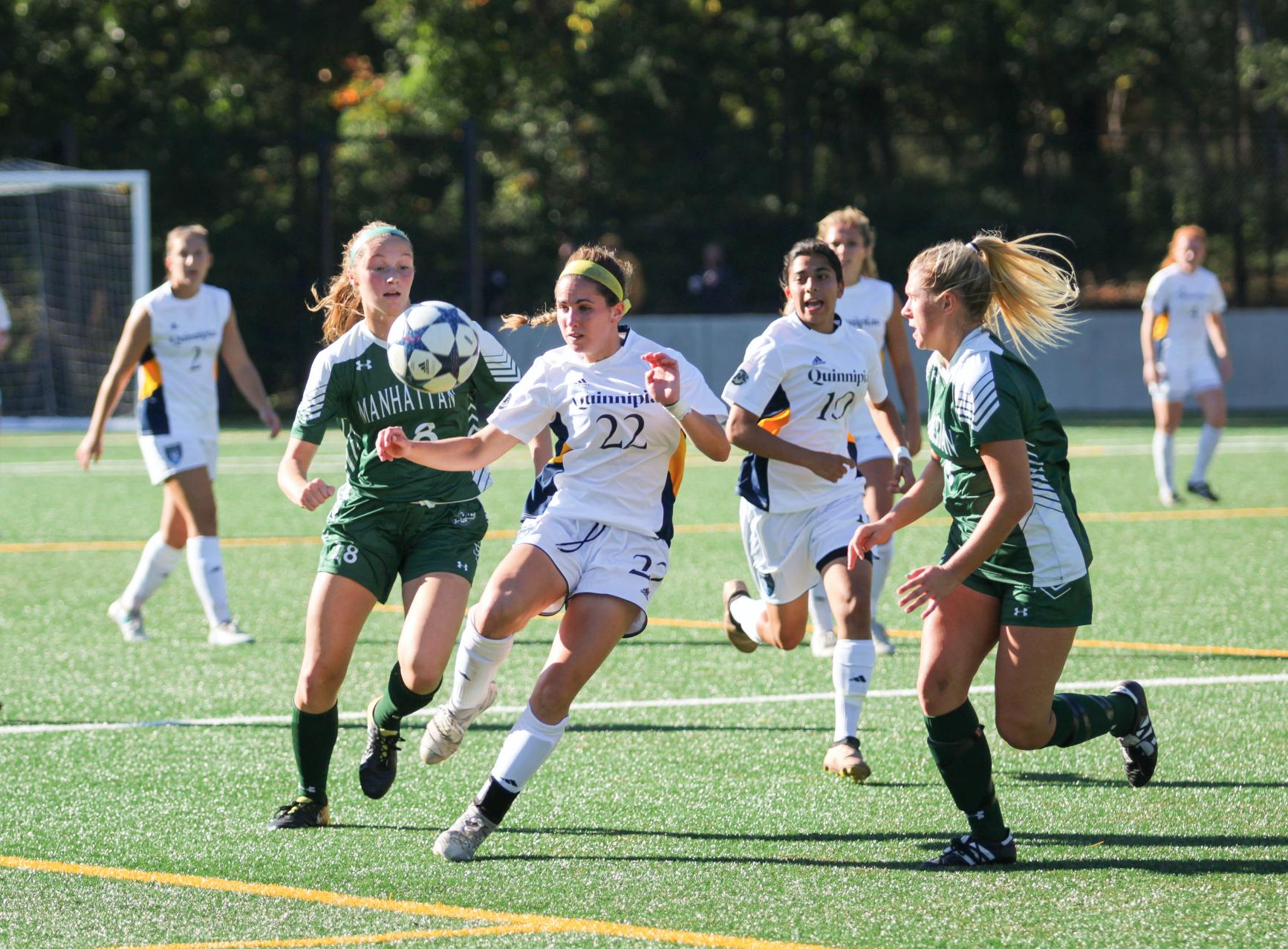 Quinnipiac women's soccer ties Manhattan, 1-1