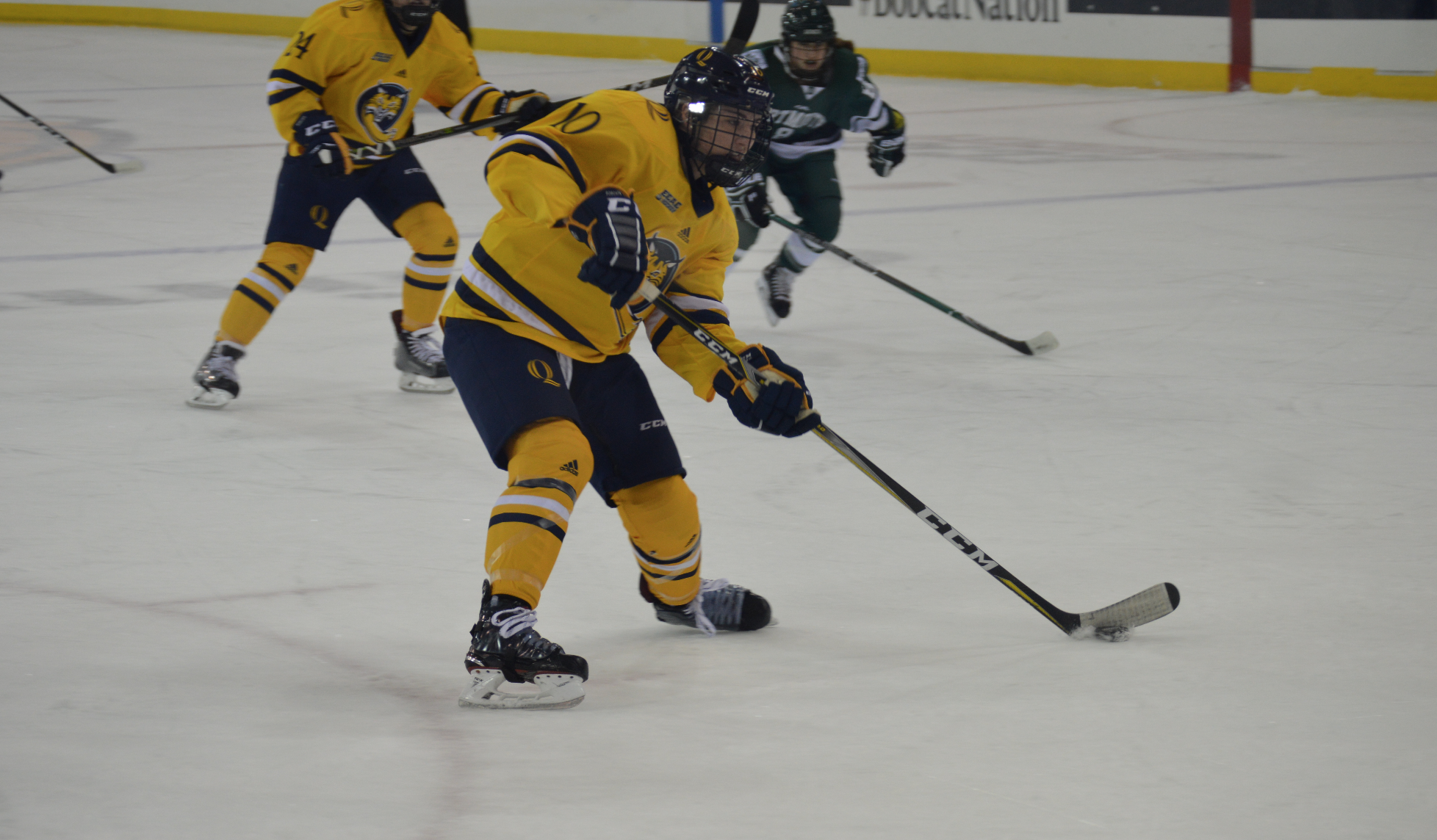 Quinnipiac women's ice hockey falls to Dartmouth
