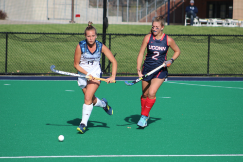 Quinnipiac field hockey falls, 3-1, to No. 1 UConn in season finale