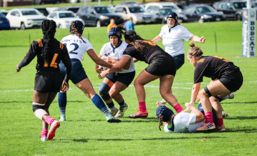 Quinnipiac rugby routs American International on Senior Day