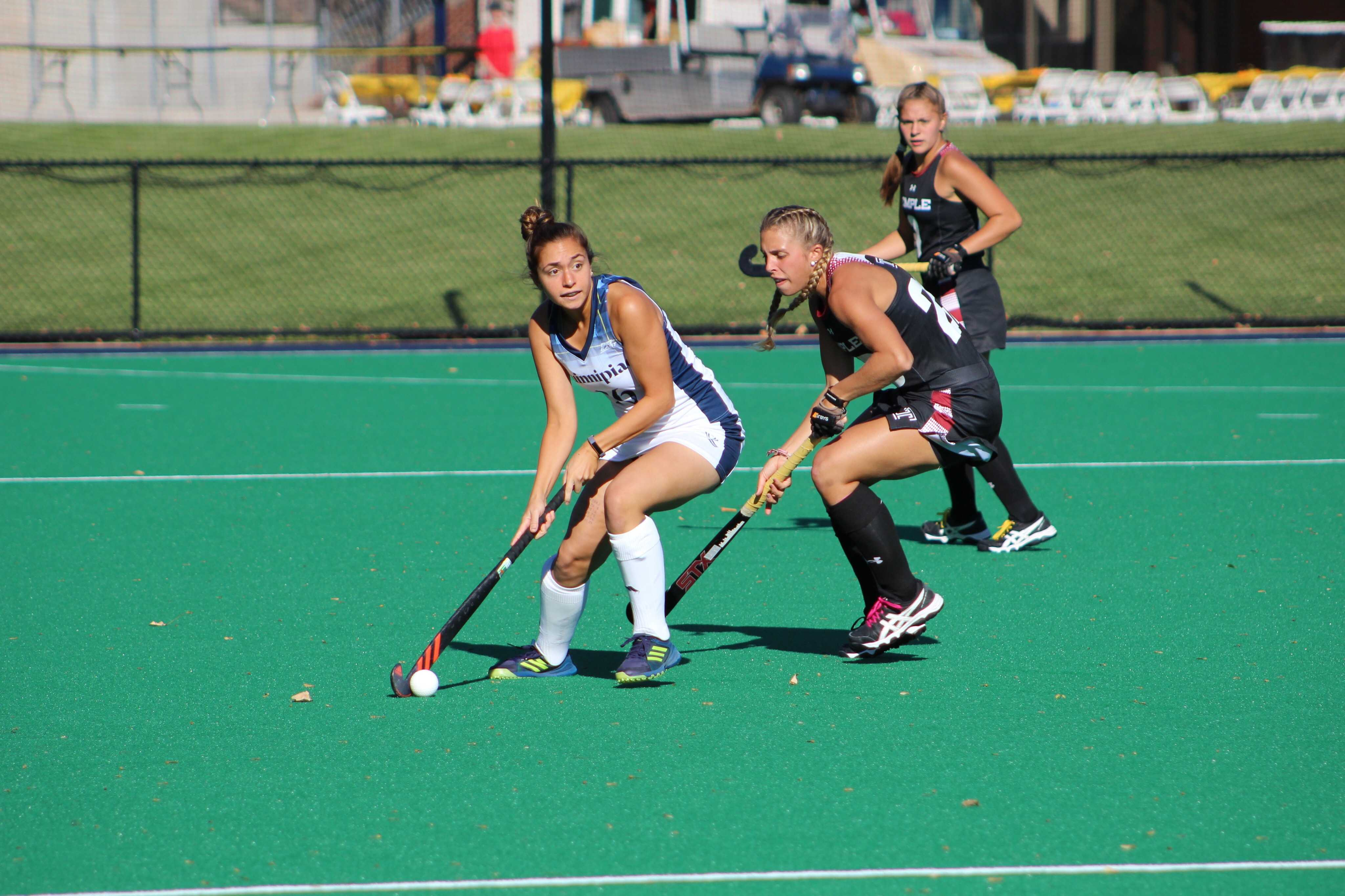 Quinnipiac field hockey keeps playoff hopes alive with 1-0 win over Temple