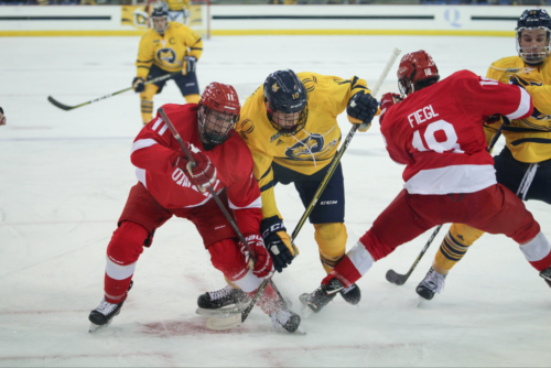 No. 11/13 Quinnipiac men's ice hockey comes up short against No. 18 Cornell