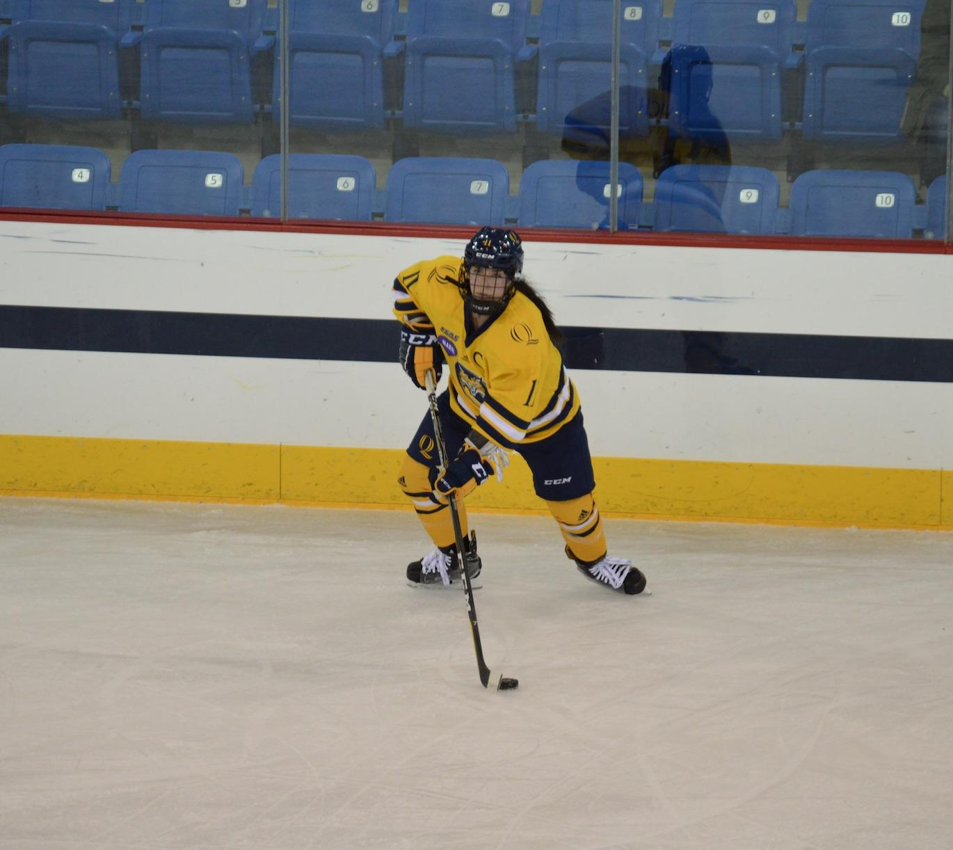 Quinnipiac women's ice hockey victorious over RPI