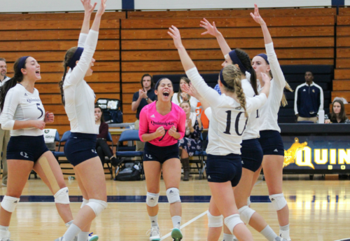 Quinnipiac volleyball beats Canisius on Senior Day