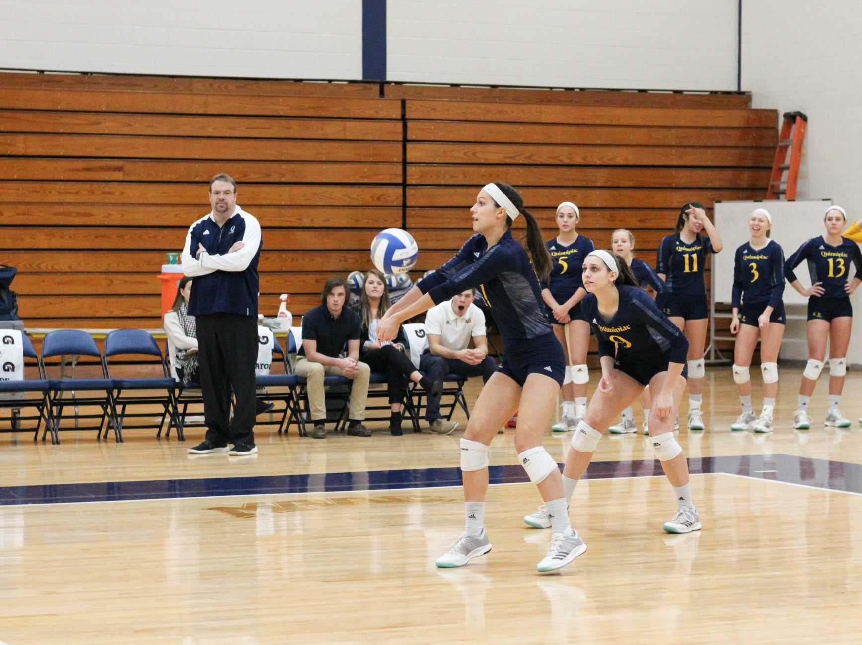 Quinnipiac volleyball falls in regular season finale