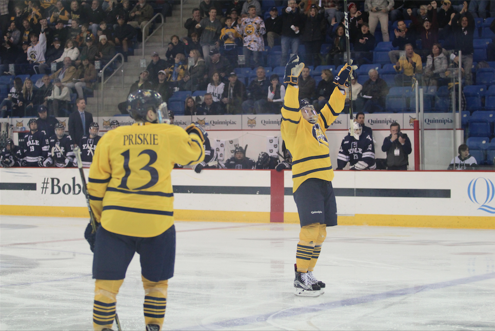 Quinnipiac edges Yale to claim Heroes Hat