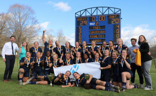 Quinnipiac rugby claims third consecutive national title in championship win over Dartmouth
