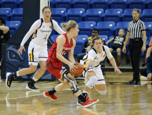 Quinnipiac women's basketball defeats Dayton, 72-66