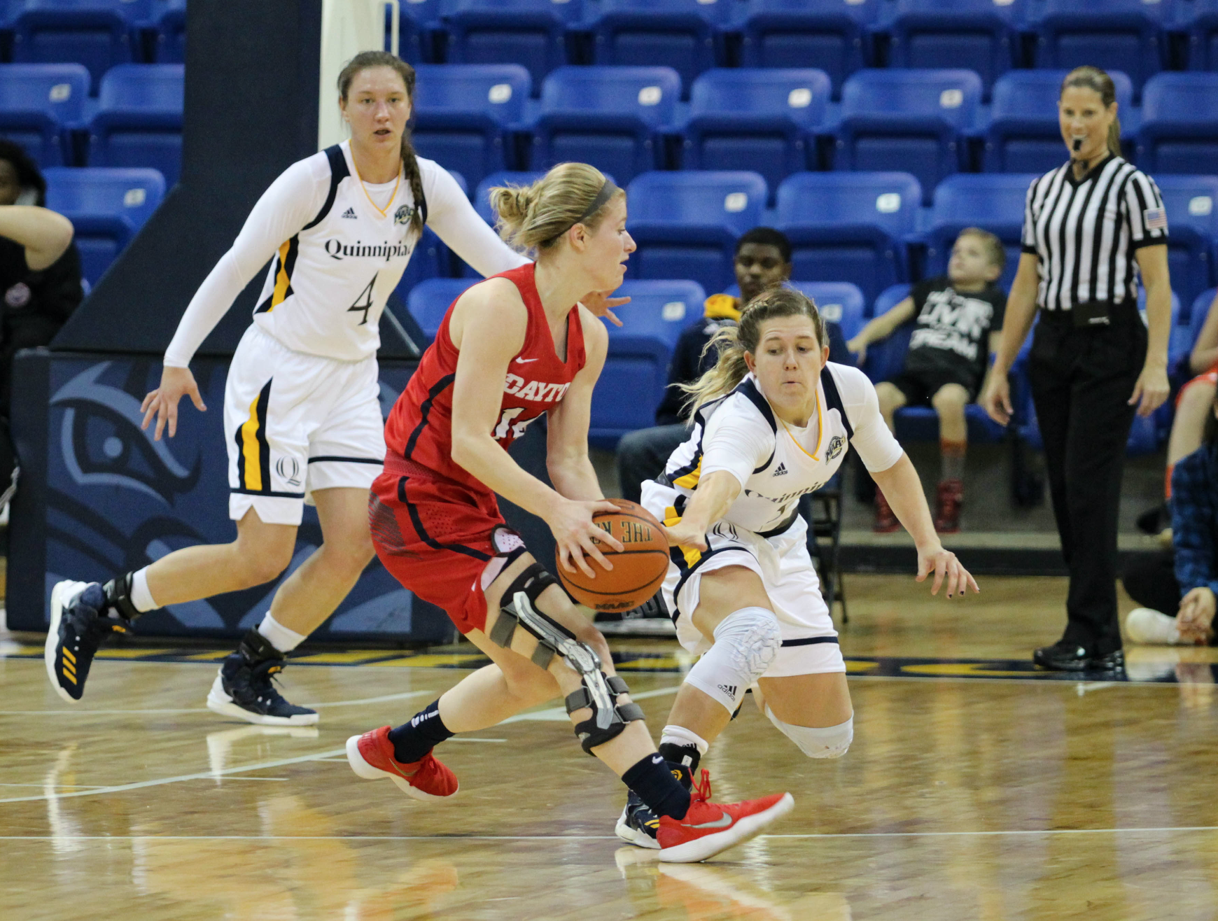 Quinnipiac women's basketball defeats Dayton, 72-66