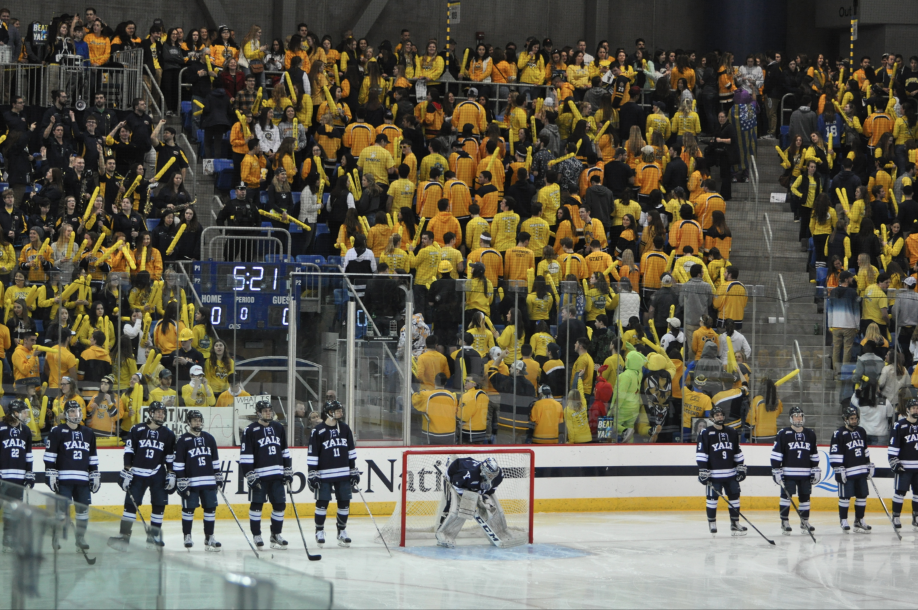 Quinnipiac vs. Yale men's ice hockey game at risk of losing attendants due to scheduling