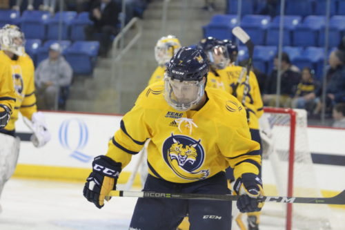Logan Mick no longer with the Quinnipiac men's ice hockey team